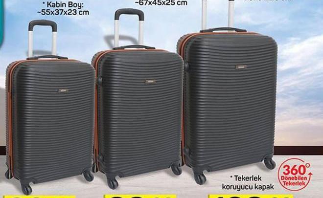 f393475e1a7e1 Valiz Çeşitleri - Aktüelde Ara? Fiyatı Nedir? A101, Bim, Şok, Migros...
