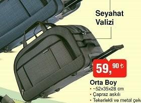 6ffd3c4c68cb5 Seyehat Boy Valiz - Aktüelde Ara? Fiyatı Nedir? A101, Bim, Şok ...