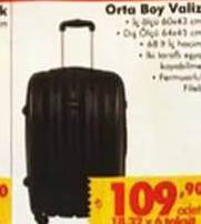 636fe78af4f5b Dört Tekerlekli Kabin Tipi Sert Valiz - Aktüelde Ara? Fiyatı Nedir ...